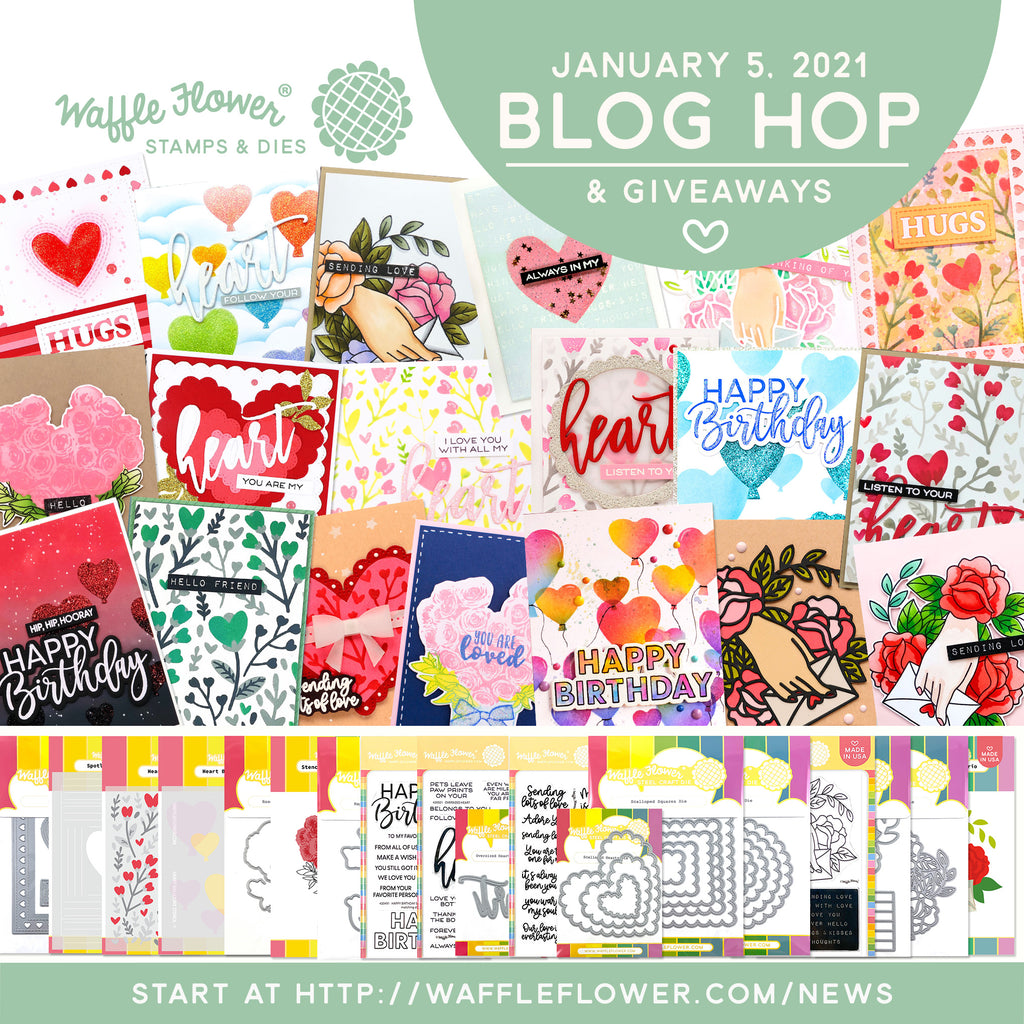 Hearts & Roses Release Blog Hop & Giveaways