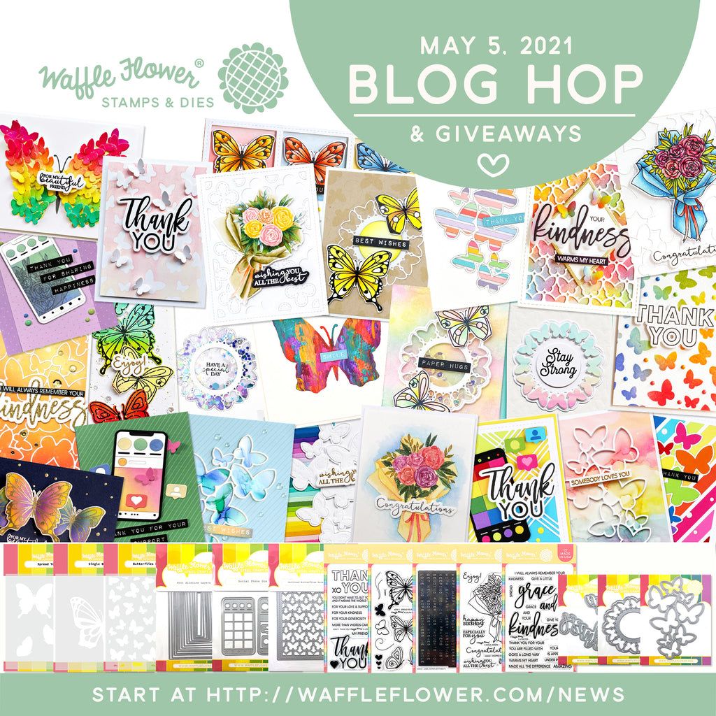 Social Butterfly Release Blog Hop & Giveaways