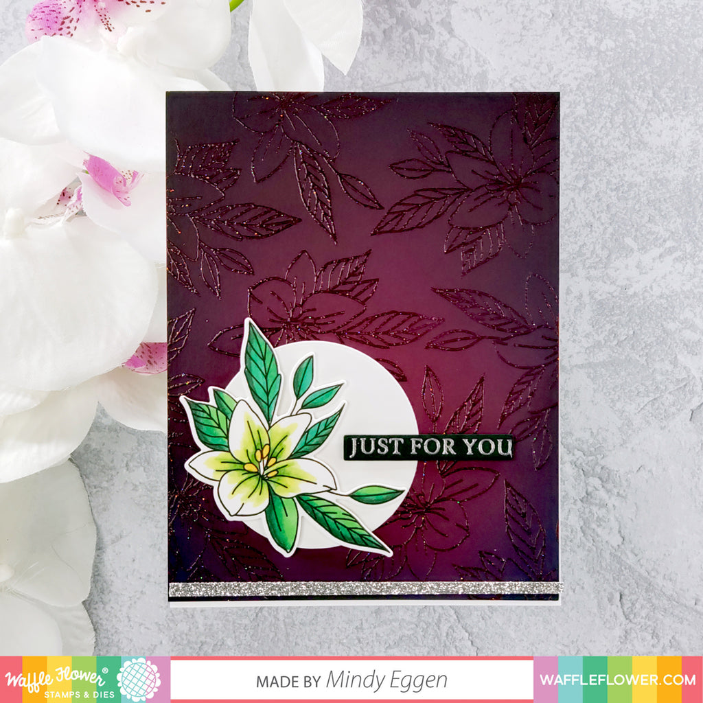 Potted Lily Stamp Set Inspiration with Mindy