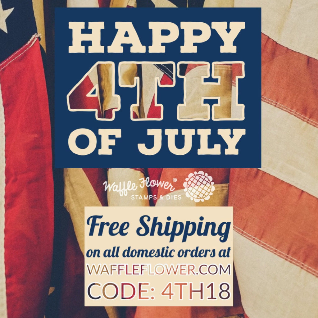 Happy 4th of July - Free Domestic Shipping - Today Only