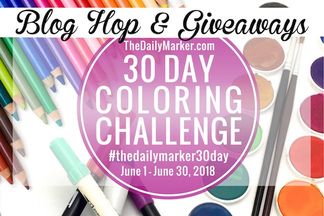 The Daily Marker 30 Day Coloring Challenge #10