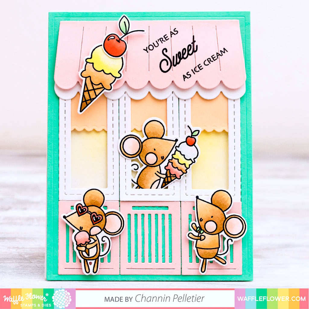 Sweet Ice Cream Shop by Channin