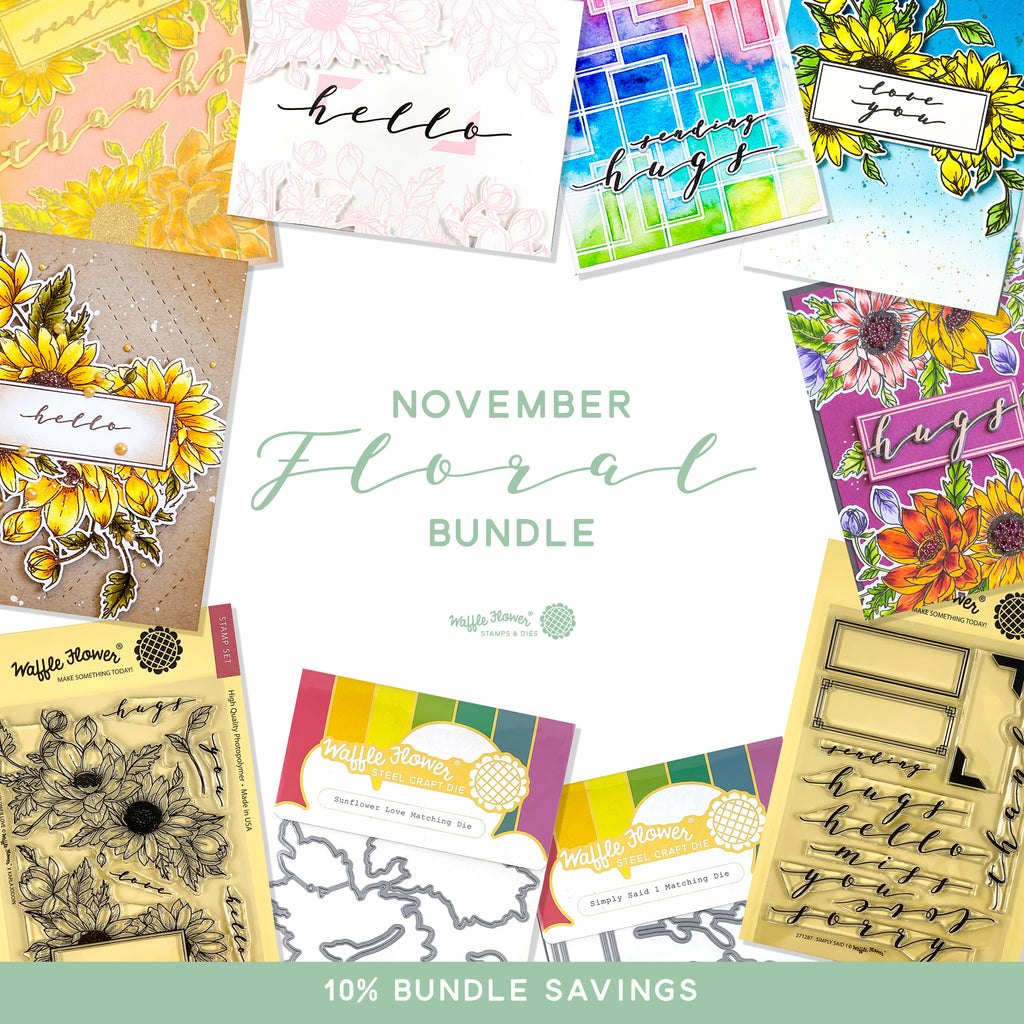 Intro to November 2019 Floral Bundle
