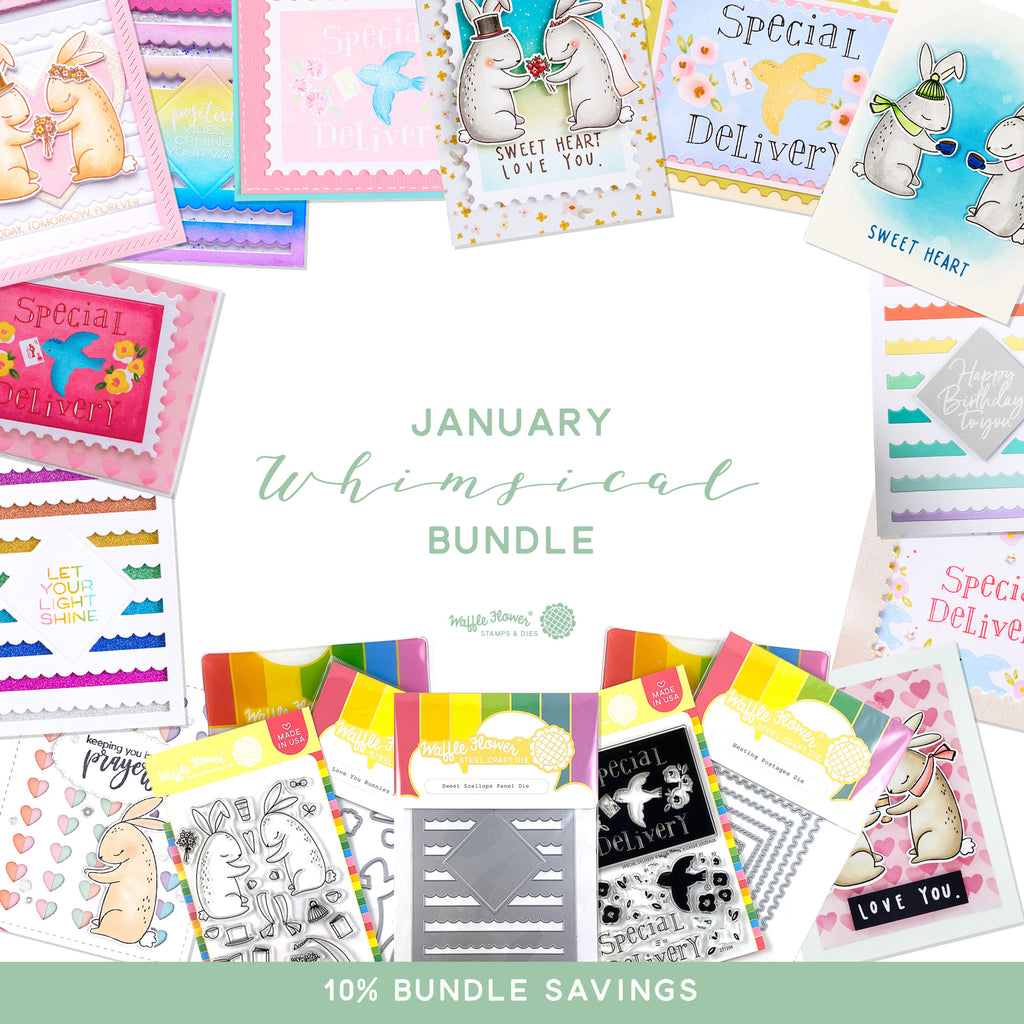 First Look at the January 2020 Whimsical Bundle - Available January 5th!