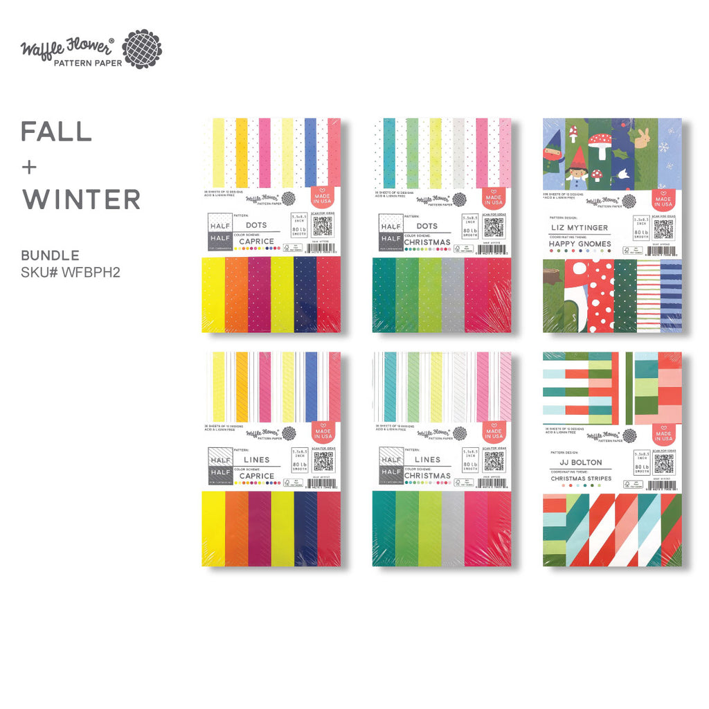 Holiday Paper Bundle Flip Through