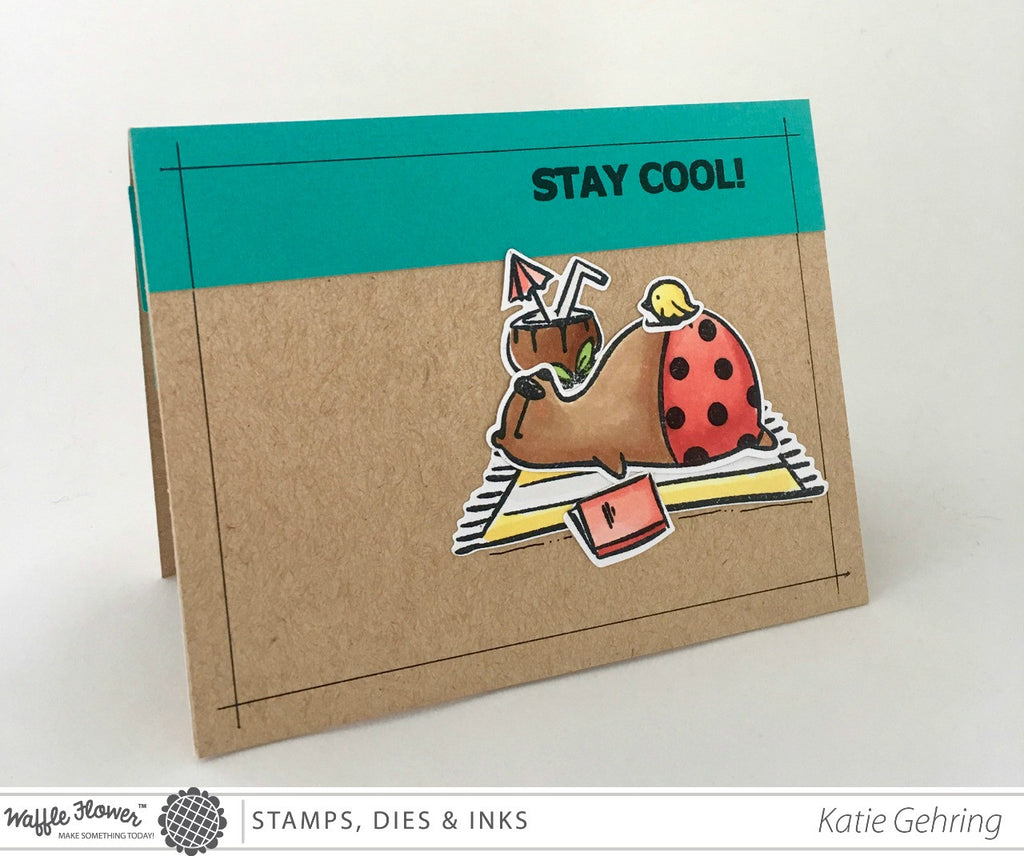 [Video] Interactive - Stay Cool Pop Up Card by Katie
