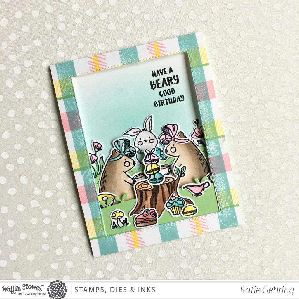 [Interactive] Peek-A-Boo Panel Card by Katie Gehring