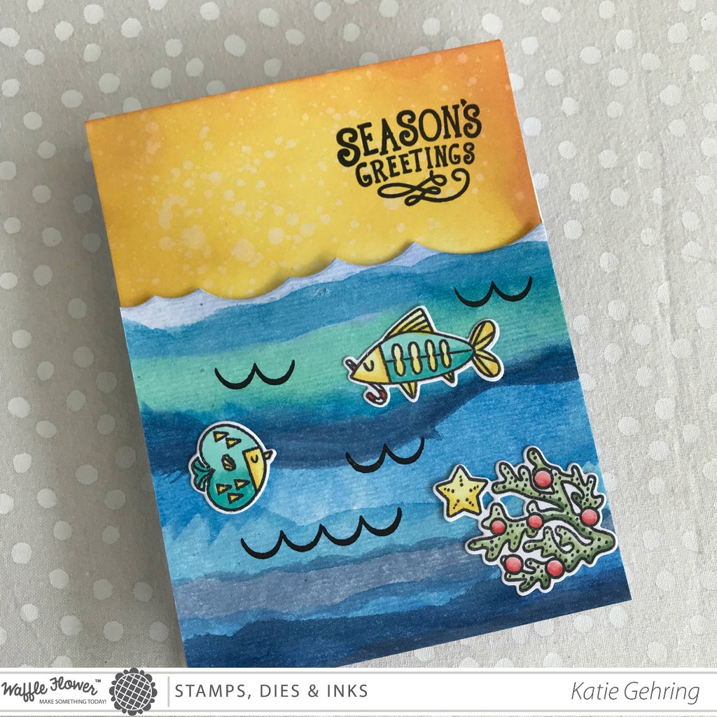 [Fun Friday] The Seasons Z Fold Card featuring Xyron Adhesives