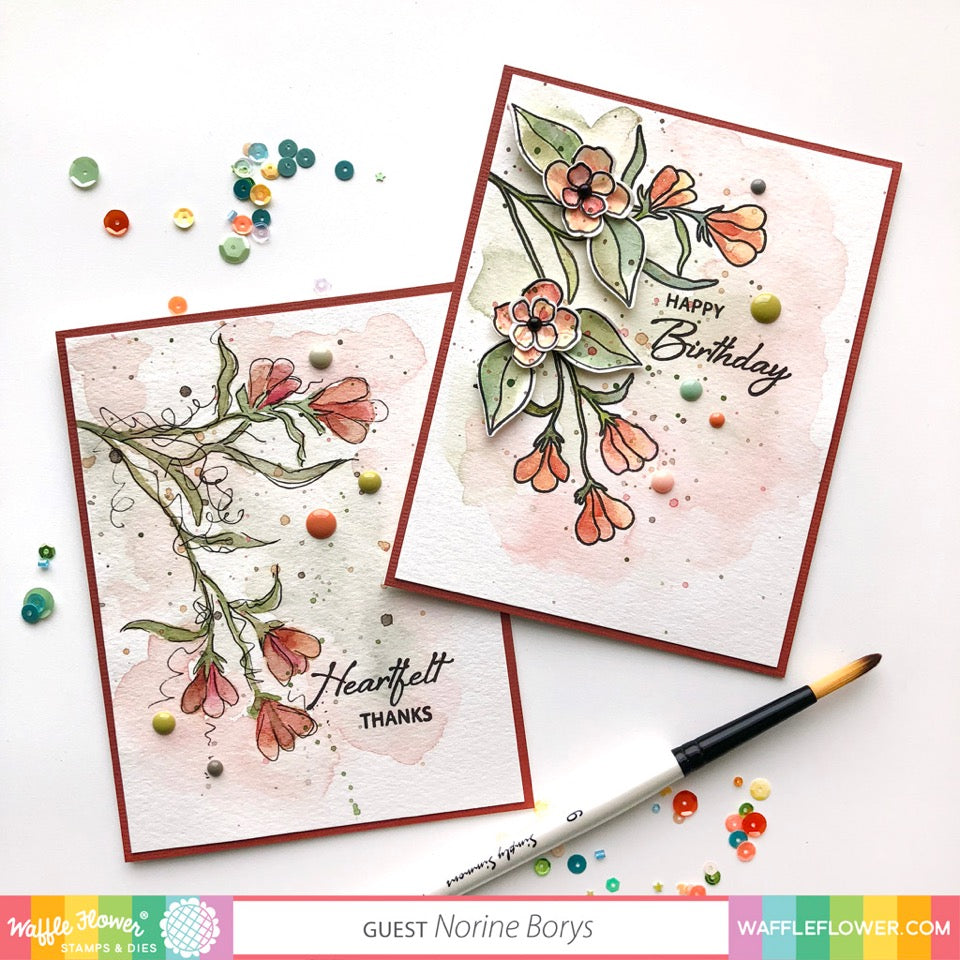 [Guest Design] Bouquet Builder Cards by Norine Borys
