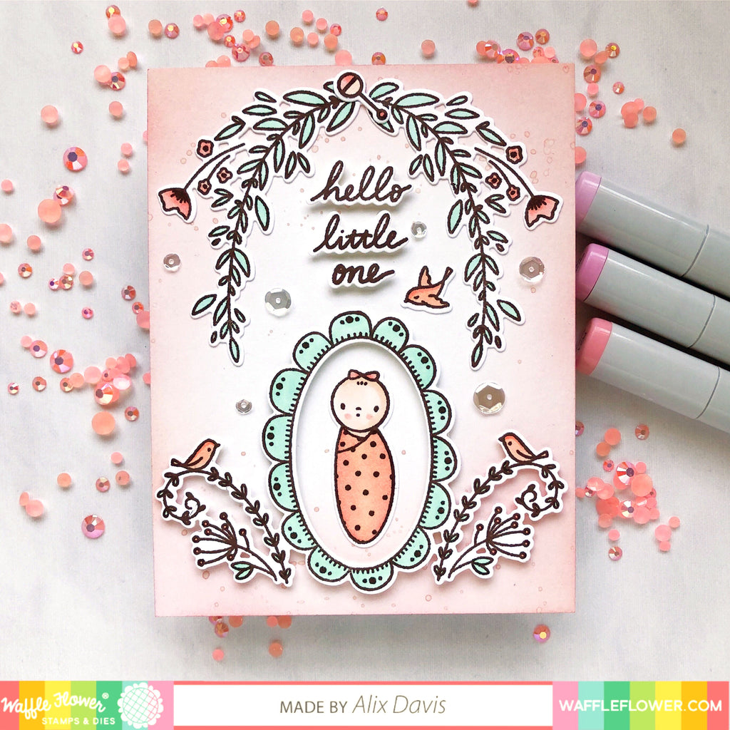 Ideas for Little One Baby Stamp Set by Alix Davis