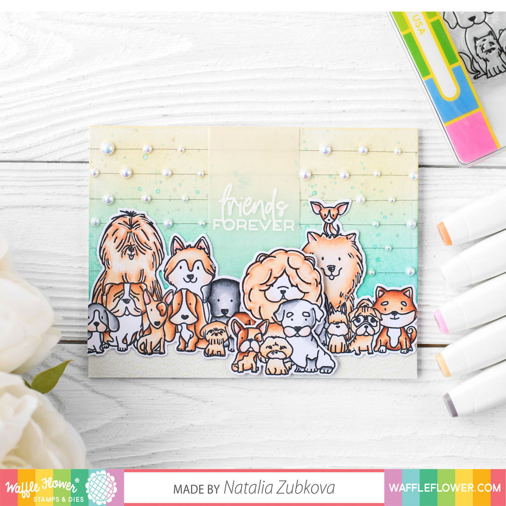 Ideas for Puppy Power Stamp Set by Natalia Zubkova