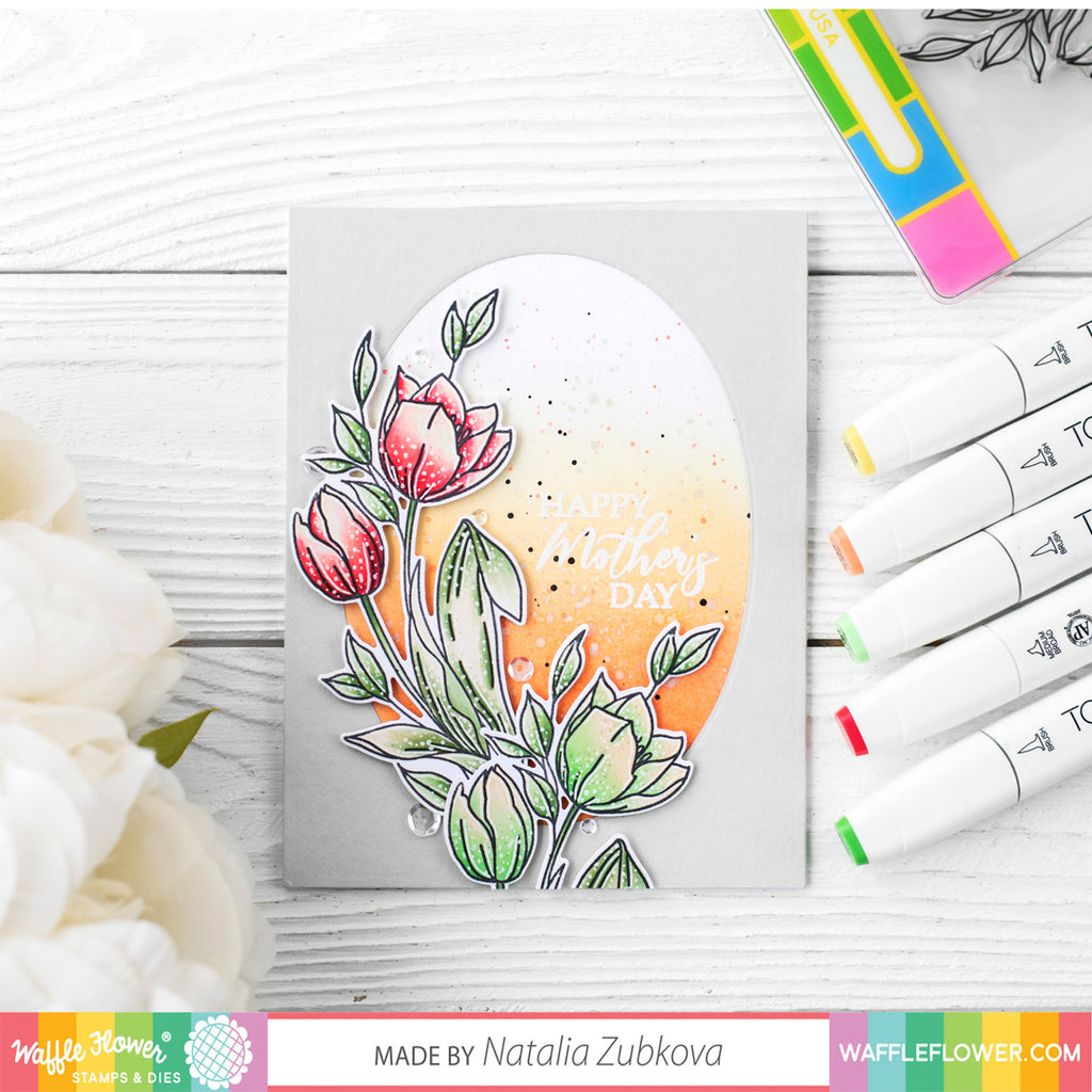 Ideas for Tulips Stamp Set by Natalia Zubkova