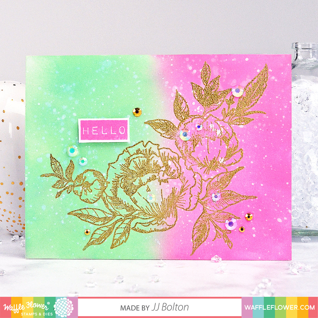 Simple Floral Card with JJ Bolton