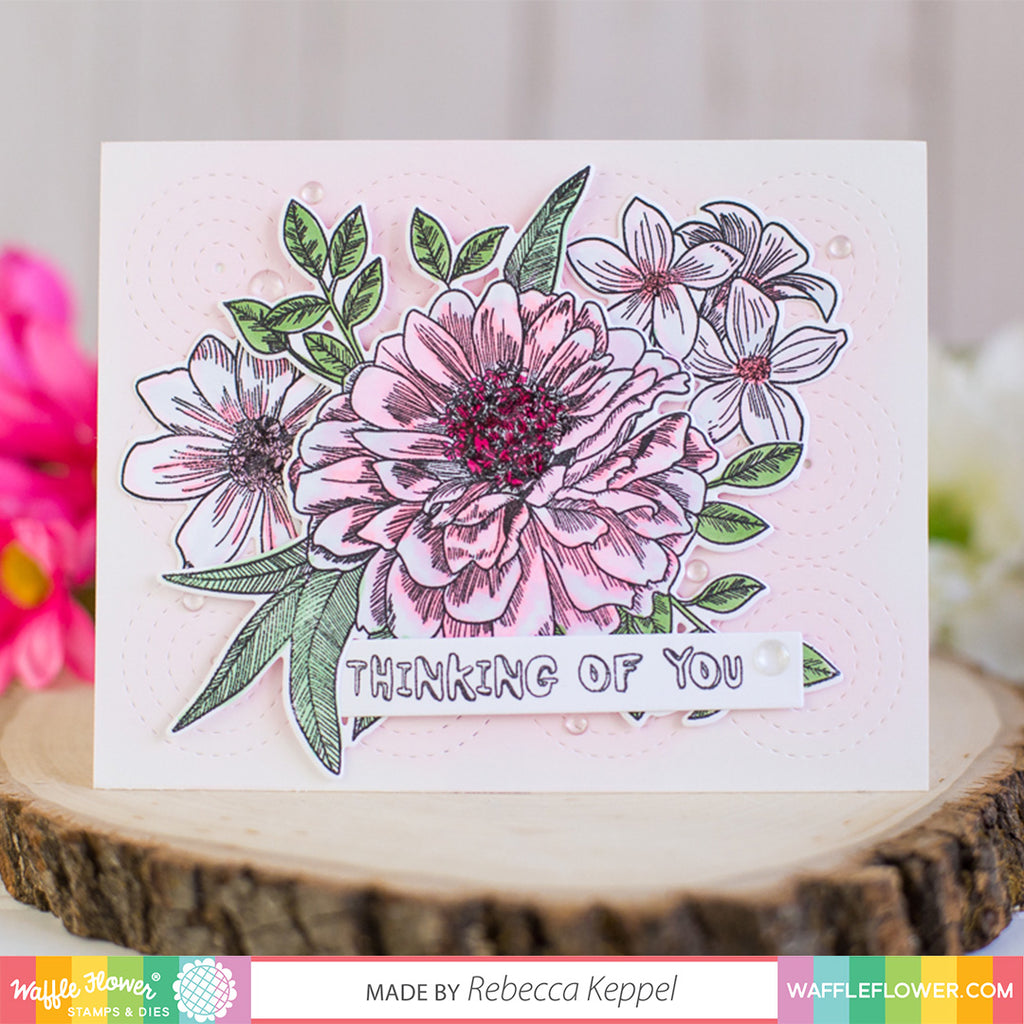 Soft Color Florals with Rebecca
