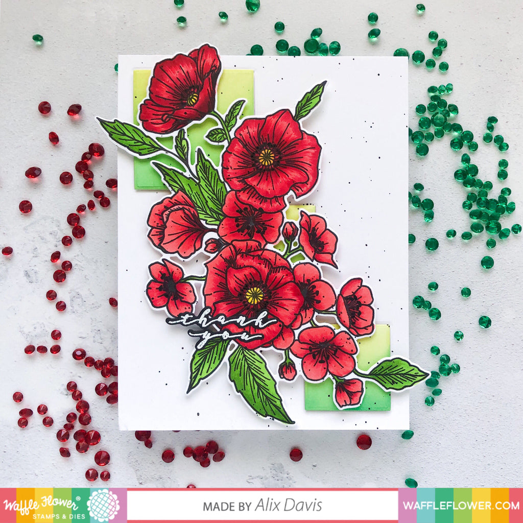Poppy Hawthorn Inspiration with Alix
