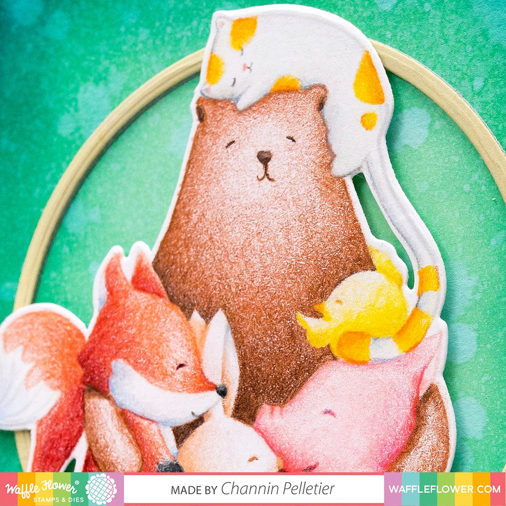 Start to Finish: Bear Hugs with Colored Pencils