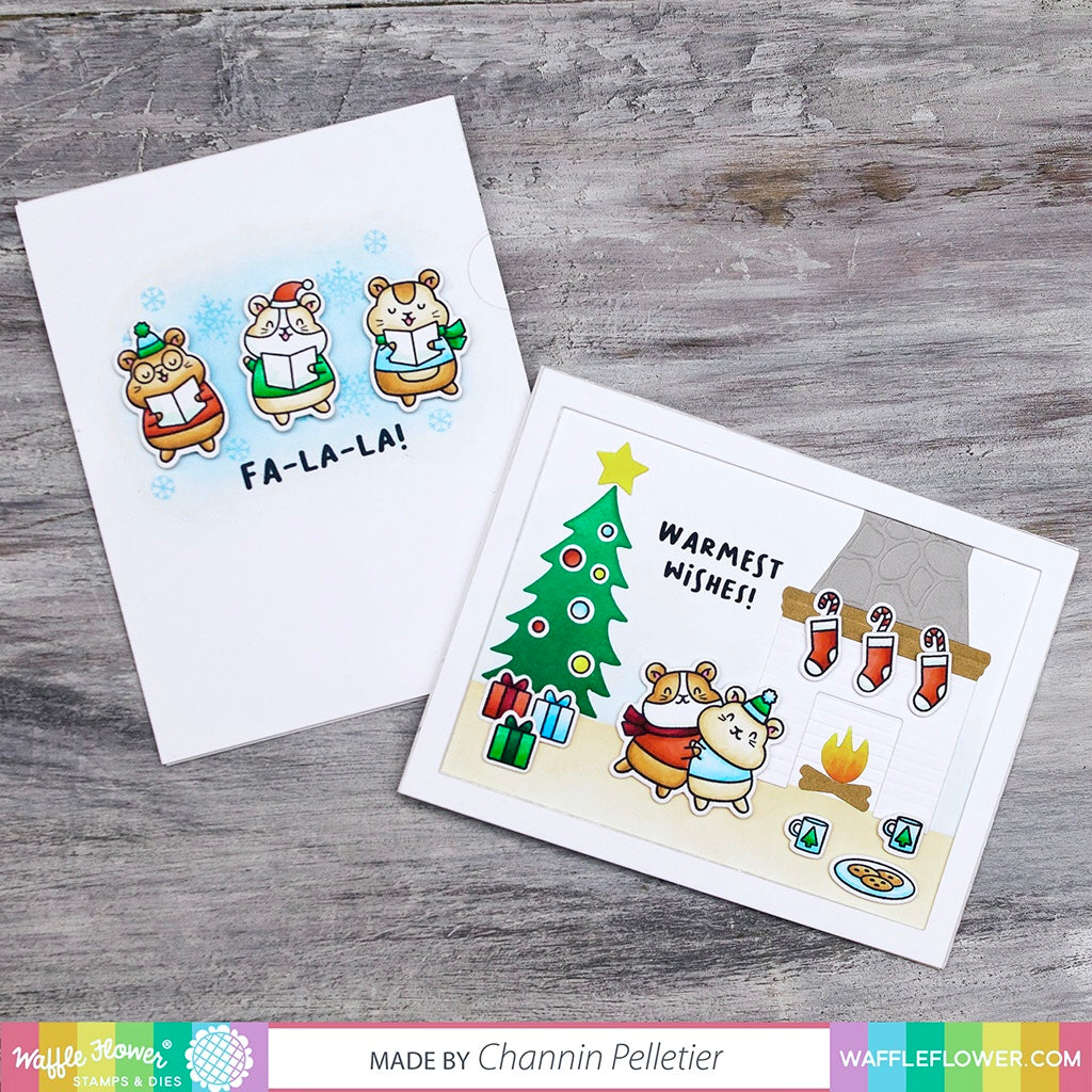 Start to Finish: Interactive Carolers with Winter Hamsters