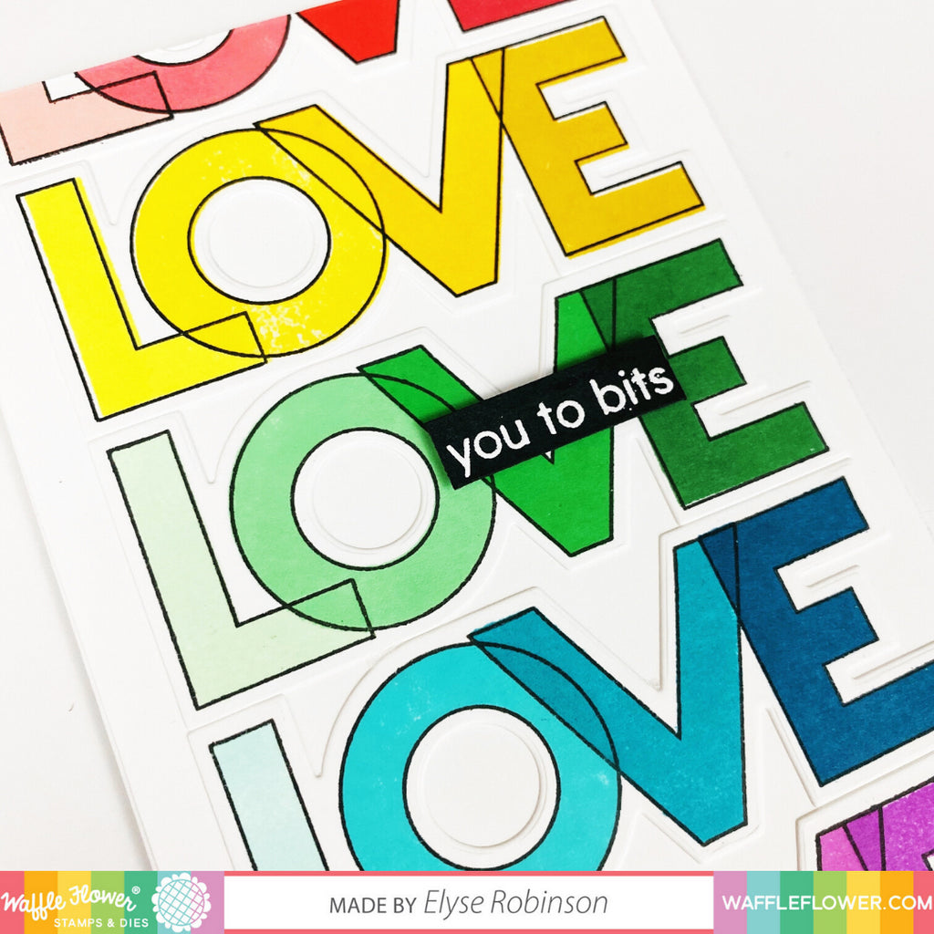 Outline Love Combo Inspiration with Elyse