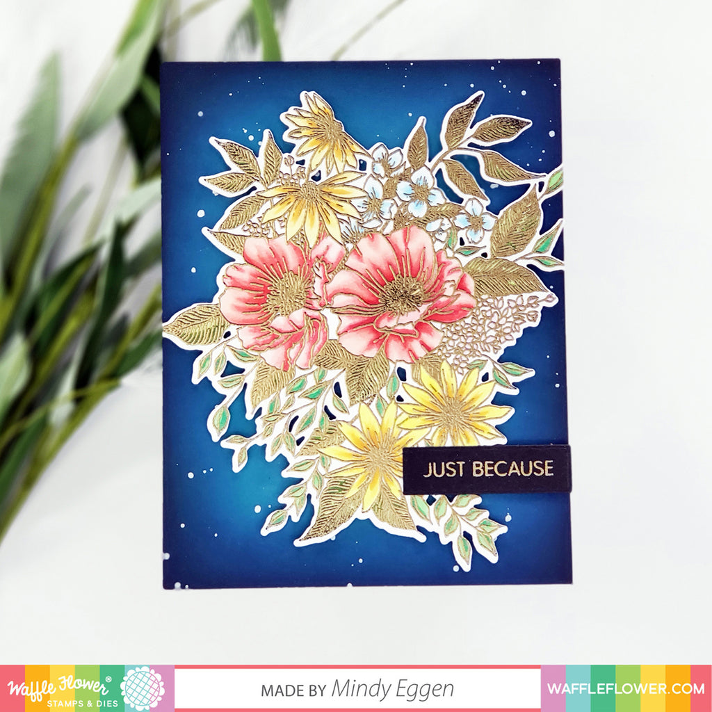 Heat Embossed Blossoms Inspiration with Mindy