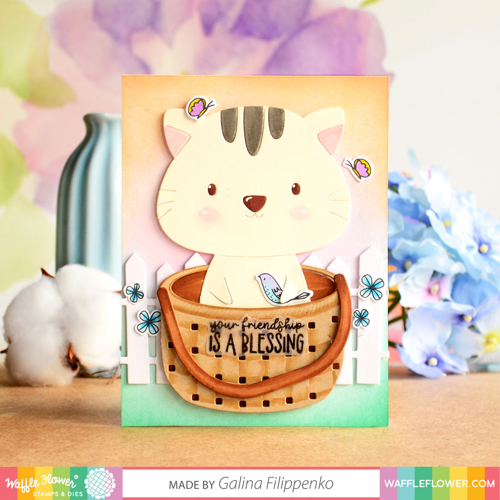 Happy Creative Bundle Week! -- Be a Cat Inspiration with Galina