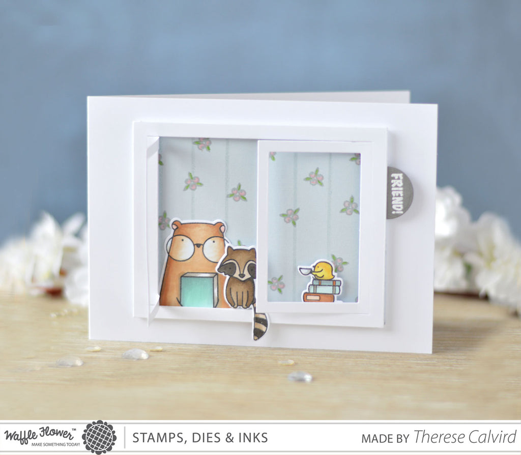 [Fun Friday] Partial Die Cut Window Scene Card by Therese
