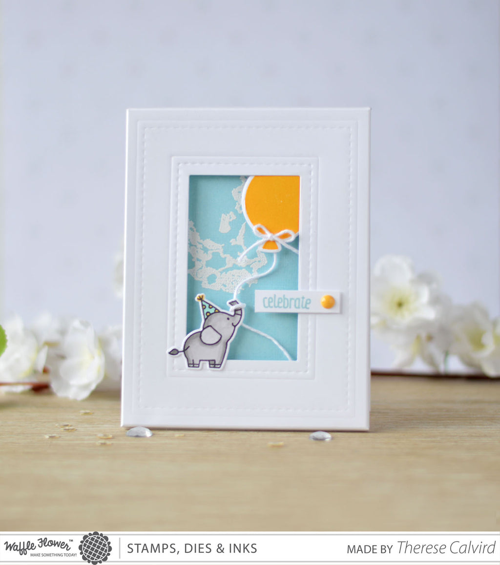 [Fun Friday] Rectangle Frame Card by Therese