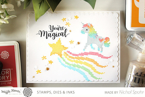 [In the Details] Rainbow Stitched Unicorn by Nichol