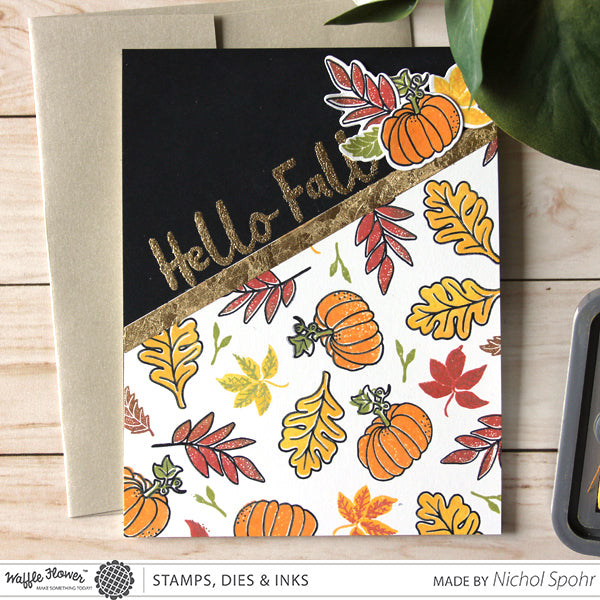 [In the Details] Hello Fall Background by Nichol Spohr