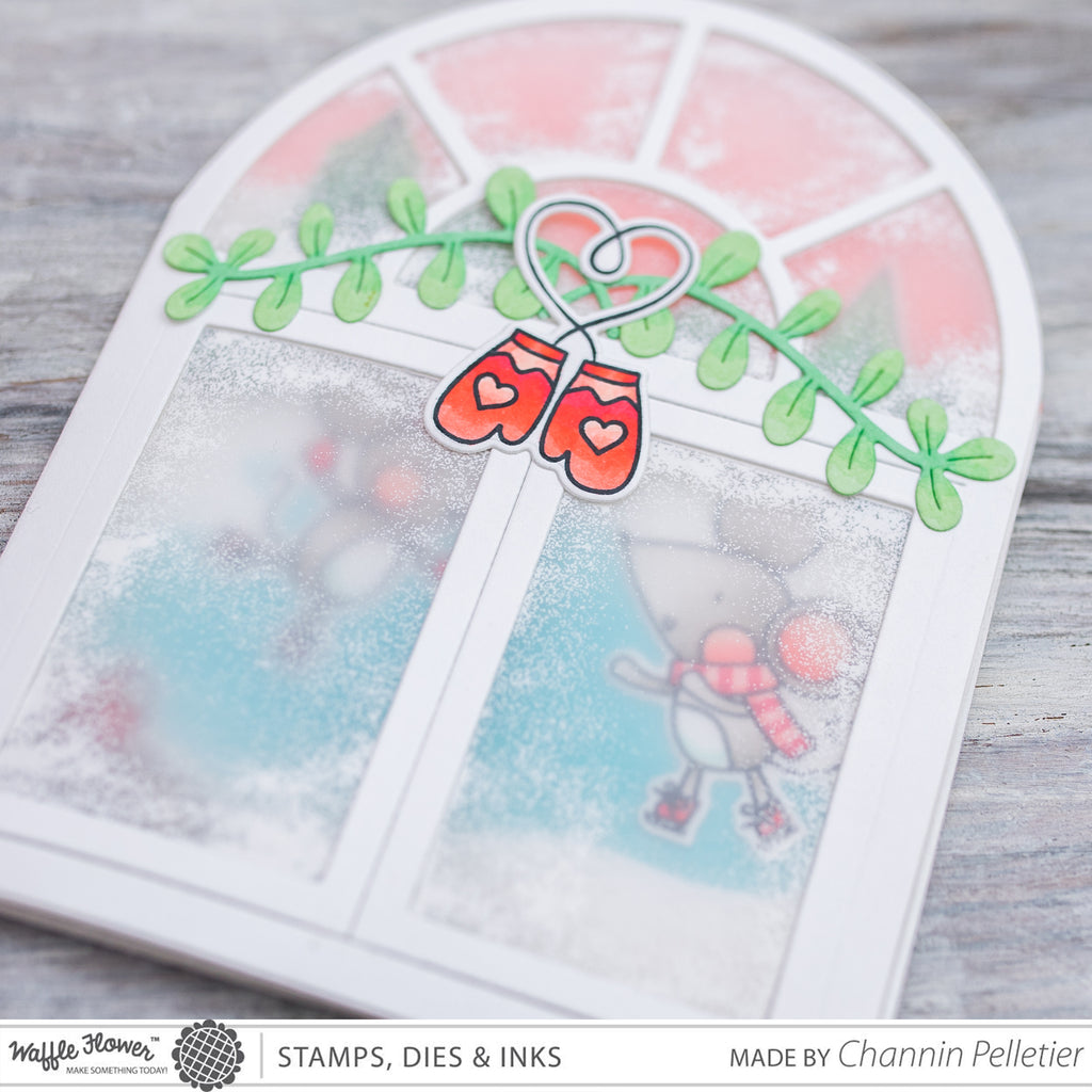 [WIW] Frosted Window Trifold Card by Channin