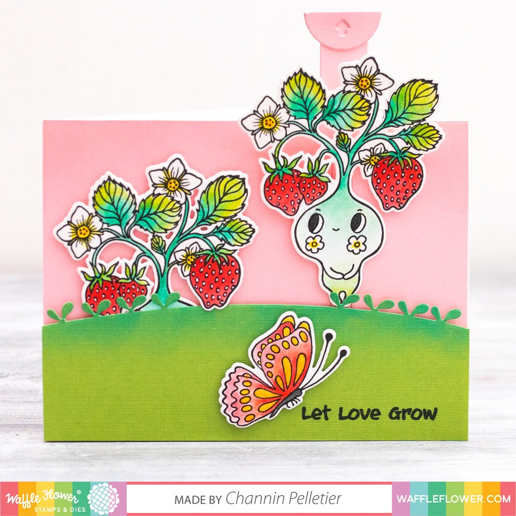 [Interactive] Let Love Grow Pull Tab Card by Channin