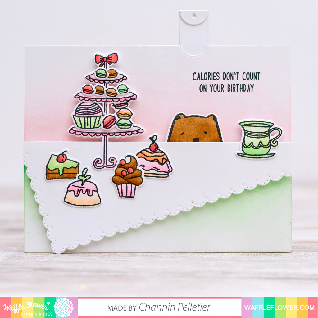 Sweet Treats Pull Tab Card by Channin