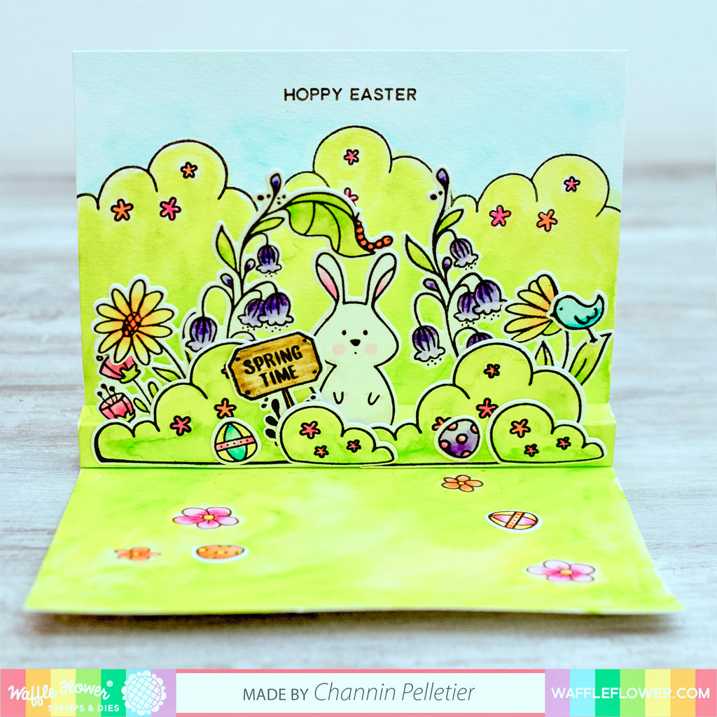 [Technique] DIY Pop Up Watercolor Card by Channin