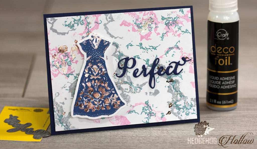 [Guest & Giveaway] How to Stamp with Deco Foil by Hedgehog Hollow