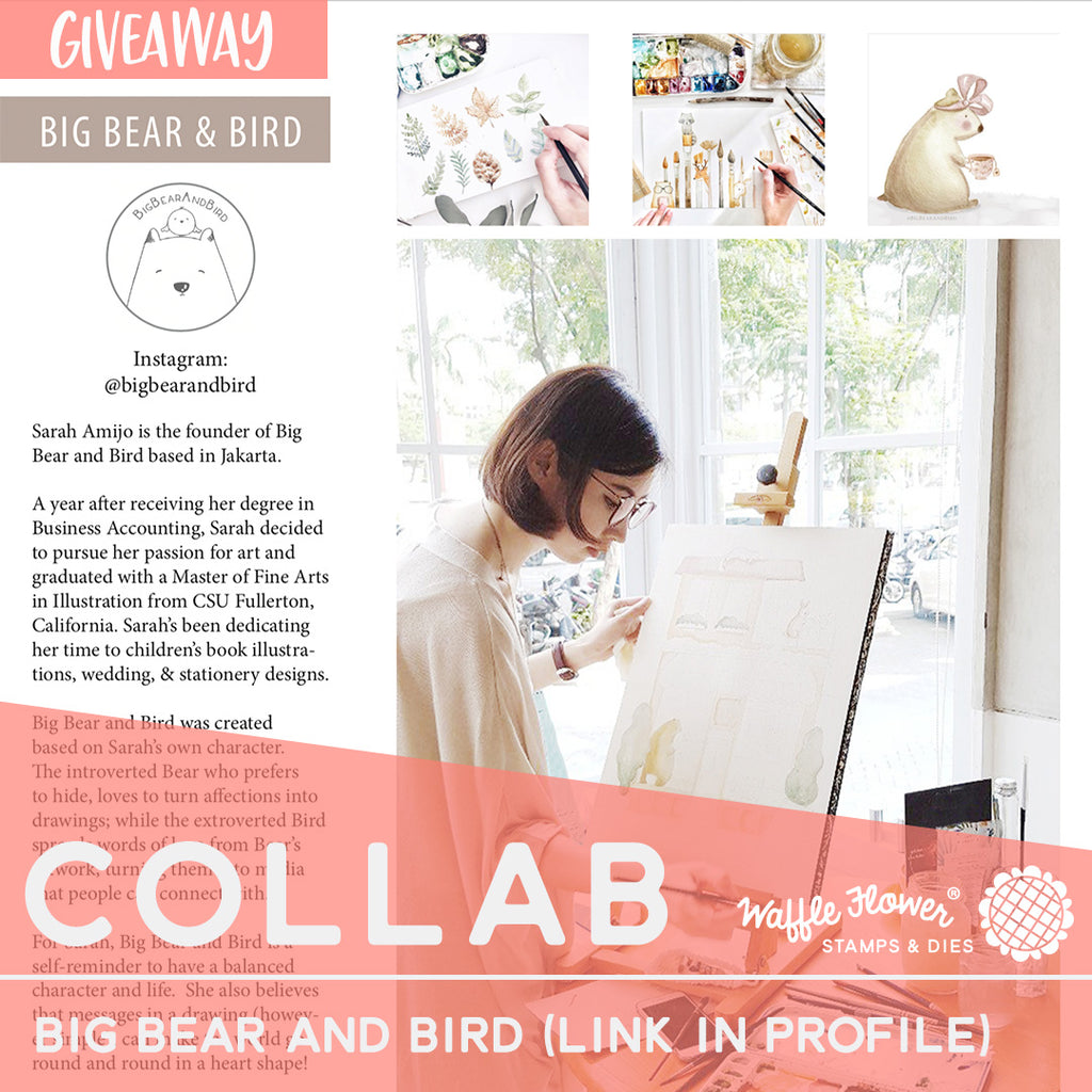 Collaborations: Big Bear & Bird and A Giveaway
