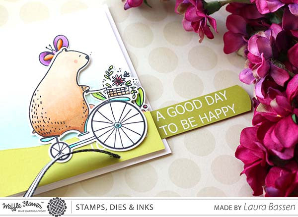 [Video] Make a Happy Day Slider Card with Laura Bassen