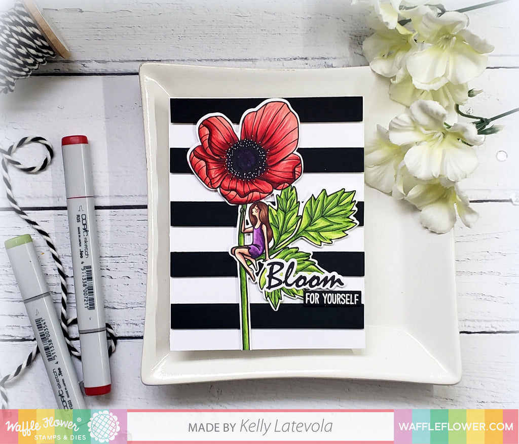 New Video Series with Kelly Latevola!! Coloring in Dimensions with Kelly | In Bloom
