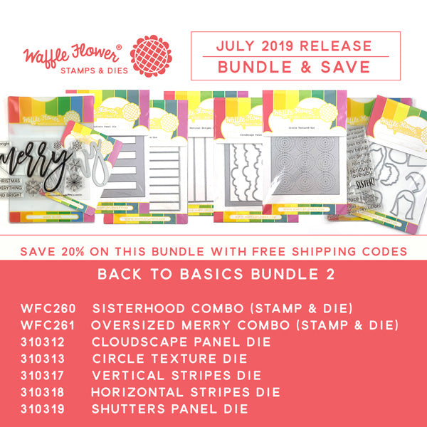 Waffle Flower 2019 Back to Basics Bundle 2