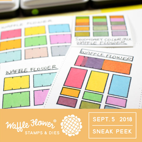 Color Swatches for Inkpads Stamp Set