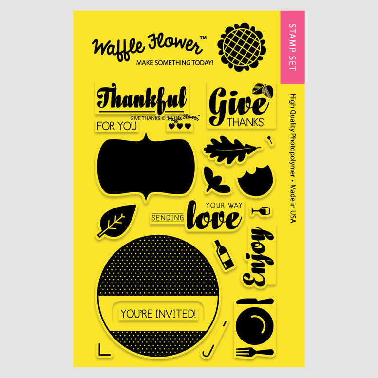 Holiday Labels - Give Thanks Set