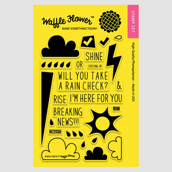 Rain Check Stamp Set