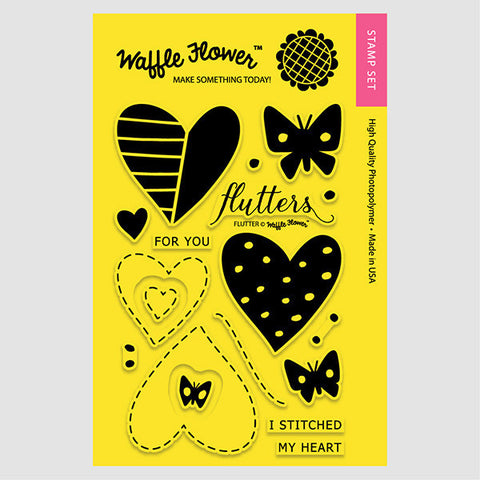 Flutter Stamp Set
