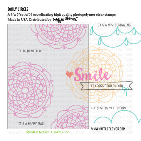 Doily Circle Stamp Set