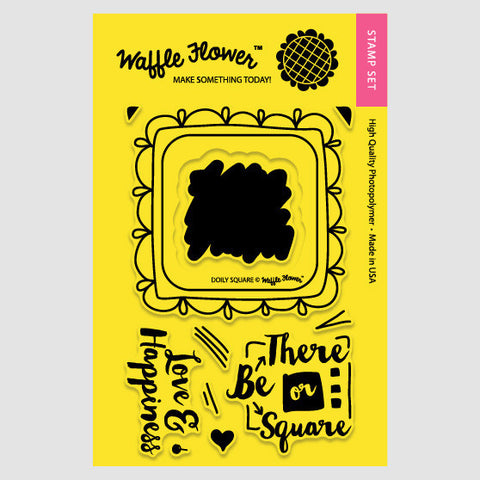 Doily Square Stamp Set