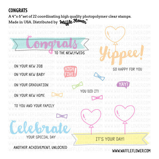 Congrats Stamp Set