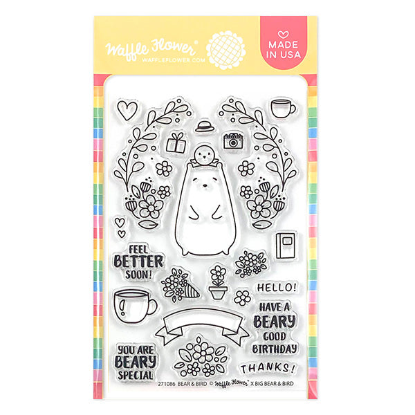 Bear and Bird Stamp Set