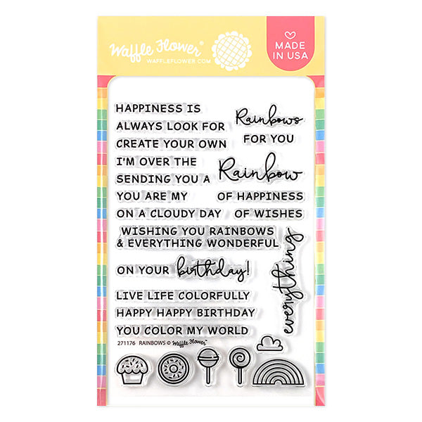 Rainbows Stamp Set