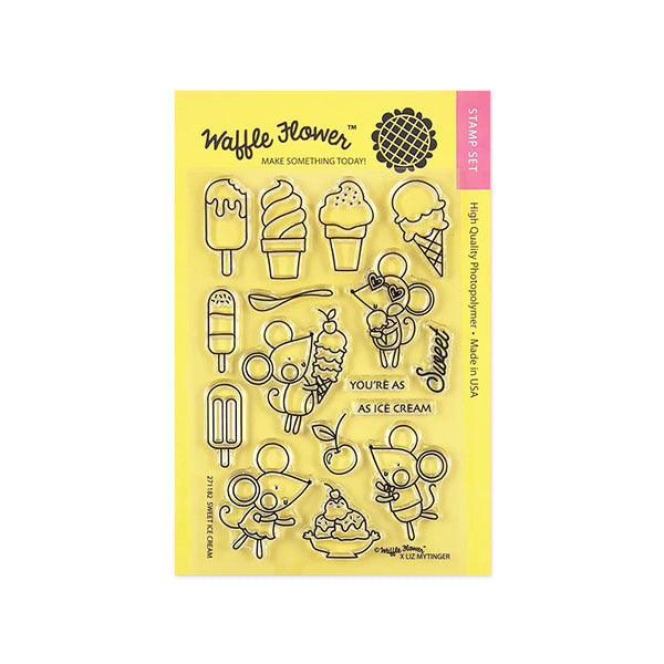 Sweet Ice Cream Stamp Set
