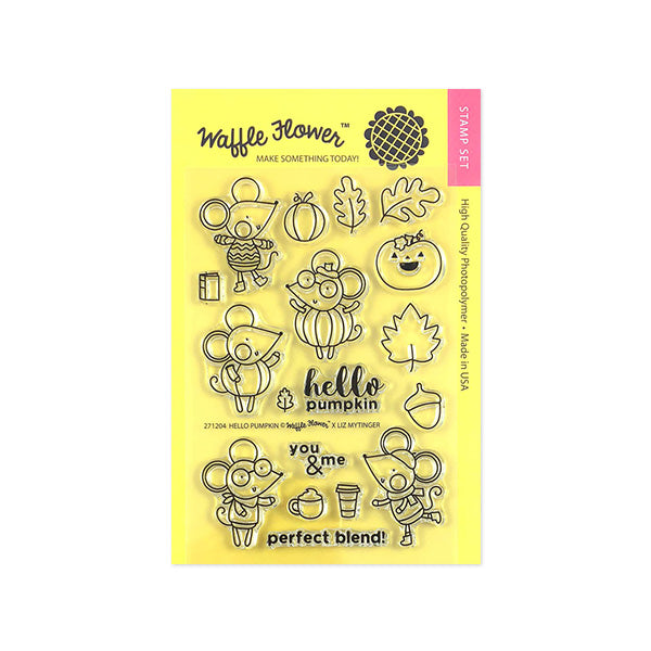 Hello Pumpkin Stamp Set