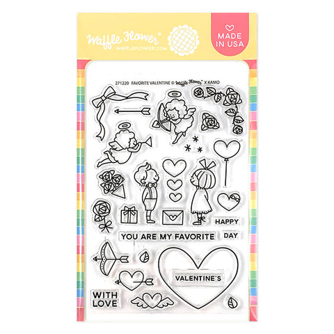 Favorite Valentine Stamp Set