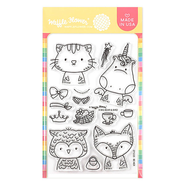 Be Her Stamp Set